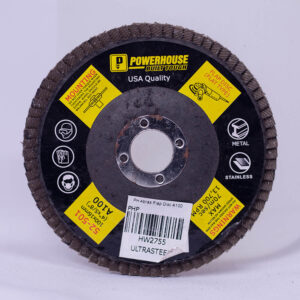 POWERHOUSE ABRASIVE FLAP DISC A100