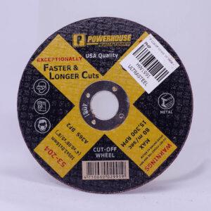 """Powerhouse Cut-Off wheel for metal 4"""""""